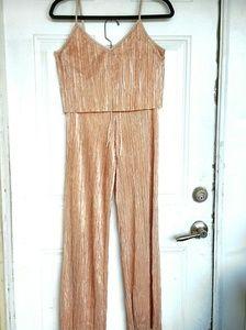 VS Metallic Pleated Pajama Set